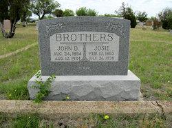 Josephine Ophelia Josie <i>Kemp</i> Brothers
