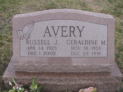 Geraldine <i>Austin</i> Avery