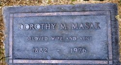 Dorothy May <i>Melzer</i> Masak