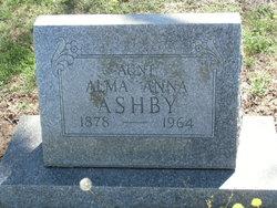 Alma Anna <i>Harney</i> Ashby