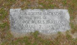 Ada Louise <i>Jackson</i> Barefoot