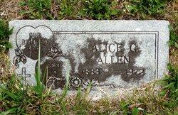 Alice <i>Gaines</i> Allen
