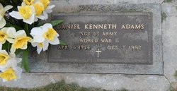 Daniel Kenneth Adams