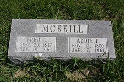 Addie L <i>Dickey</i> Morrill