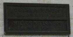 Thelma Beatrice <i>King</i> Flowers