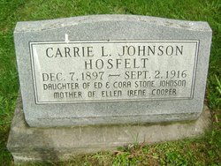 Carrie Laverne <i>Johnson</i> Hosfelt