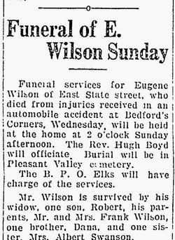 Eugene B Willson