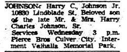 Harry Charles Johnson, Jr