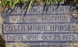 Gusta Marie Hansen