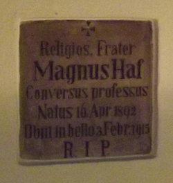 Fr Magnus Haf