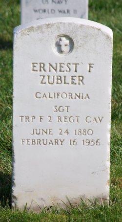 Ernest Frederick Zubler