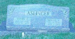 Minnie Viola <i>Moyers</i> Aslinger