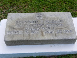 Sgt Bernard J. McDaid