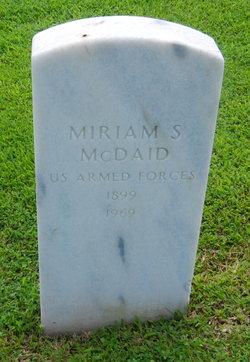 Miriam <i>Shay</i> McDaid