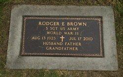 Rodger E Brown