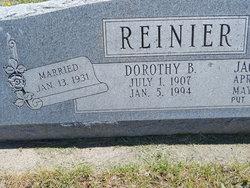 Dorothy Belle <i>Smith</i> Reinier