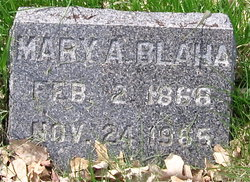 Mary Ann <i>Starry</i> Blaha