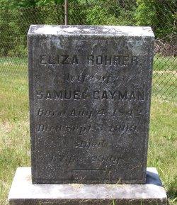 Eliza <i>Rohrer</i> Gayman