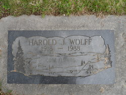 Harold J Wolff