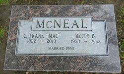 Betty J <i>Berray</i> McNeal