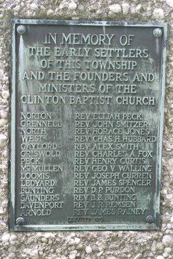 Clinton Center Cemetery