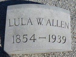 Lula <i>Watson</i> Allen