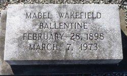 Mabel <i>Wakefield</i> Ballentine