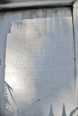 Jeanne <i>Davis</i> Davant