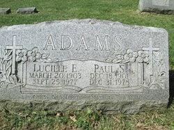 Lucille E. <i>Burd</i> Adams