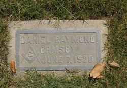 Daniel Raymond Ormsby