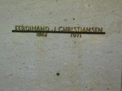 Ferdinand J. Christiansen