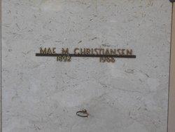 Mae M. Christiansen