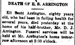 Eli Scott Arrington
