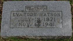 Eva <i>Todd</i> Watson
