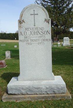 Rev Alfred O. Johnson