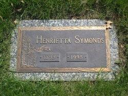 Henrietta Eliza <i>Moler</i> Symonds