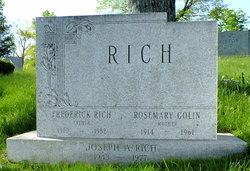 Rose Mary Madeline <i>Golin</i> Rich