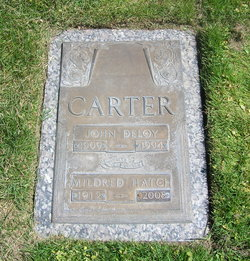 Mildred <i>Hatch</i> Carter