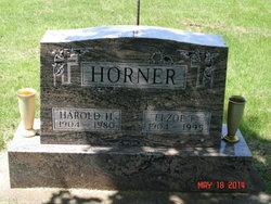 Elzoe <i>Hubbard</i> Horner