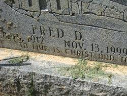 Rev Fred D. Pick
