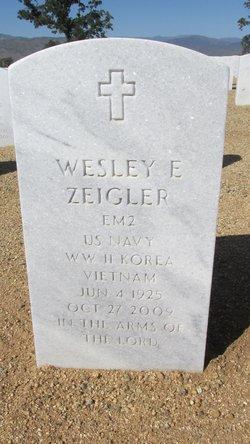 Wesley Earl Zeigler