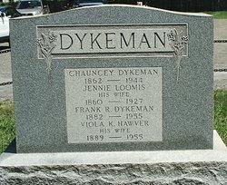 Jeannie <i>Loomis</i> Dykeman