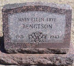 Mary Ellen <i>Frye</i> Bengtson