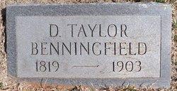 Daniel Taylor Benningfield