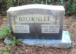 Emma Caroline <i>Mellard</i> Brownlee