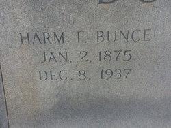 Harm Frederick Fred Bunce