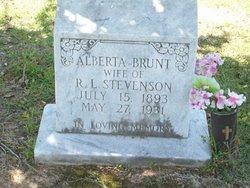 Alberta <i>Brunt</i> Stevenson