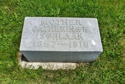 Catherine Elizabeth <i>Baumunk</i> Schlaak