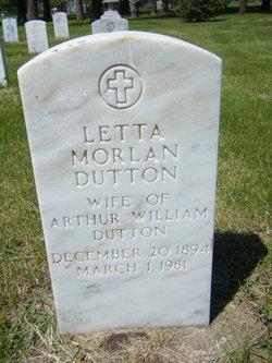 Letta <i>Morlan</i> Dutton