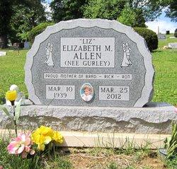 Elizabeth Mae Liz <i>Gurley</i> Allen